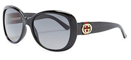 d20c0192d14 Gucci Sunglasses - 3644   Frame  Shiny Black Lens  Gray gradient  Polarized-GG3644S0D28WJ