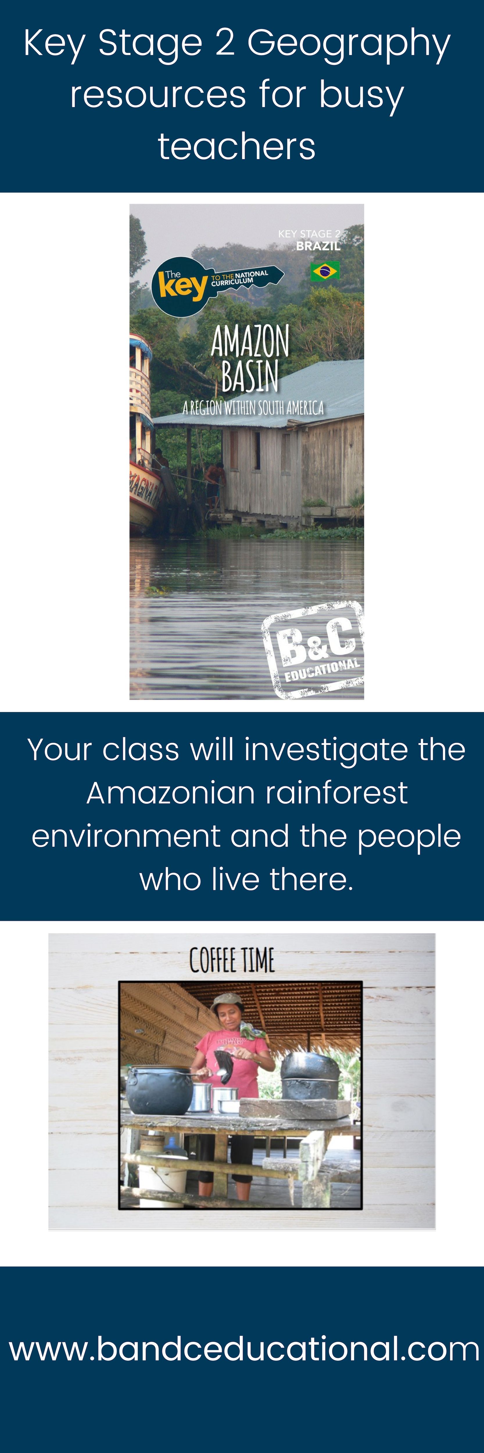 Teach Your Class All About The Amazon Rainforest And Bring