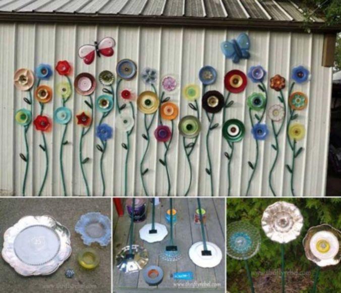 Vintage Easy Diy Garden Art Ideas
