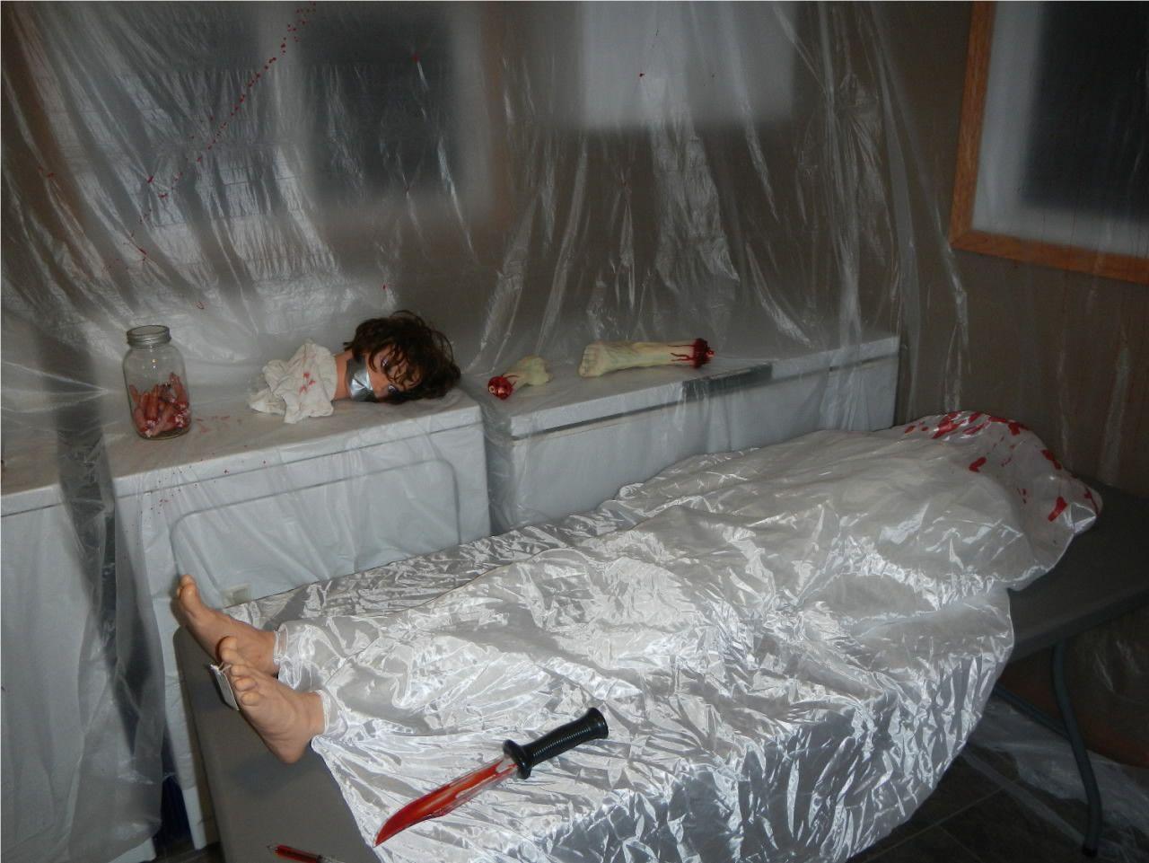 Dexter S Kill Room Easiest Decorating Ever Plastic