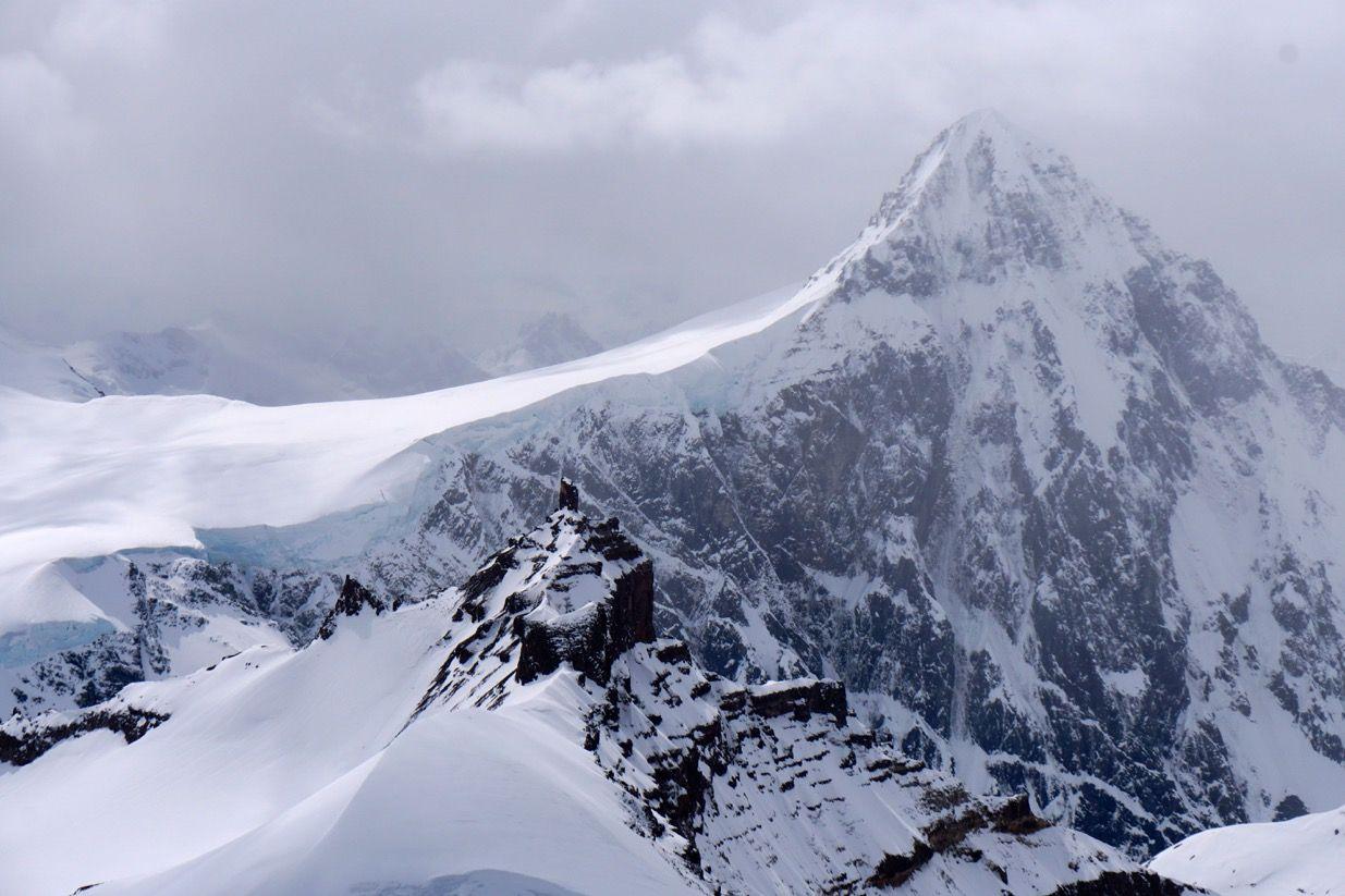Clouds Over Alaska's Wrangell Mountains