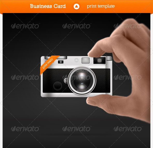 Photographer business card business card pinterest photographer business card cheaphphosting Images