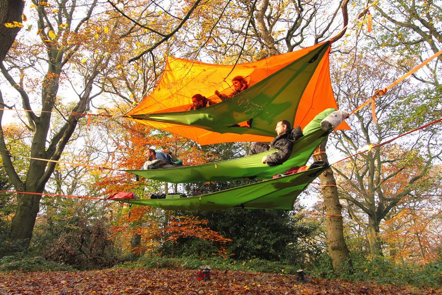 tree-tents-hammocks-c&ing-shelter-tensile-tentsile-13 & New Models Of Suspended Tents That Let You Sleep Among The Trees ...