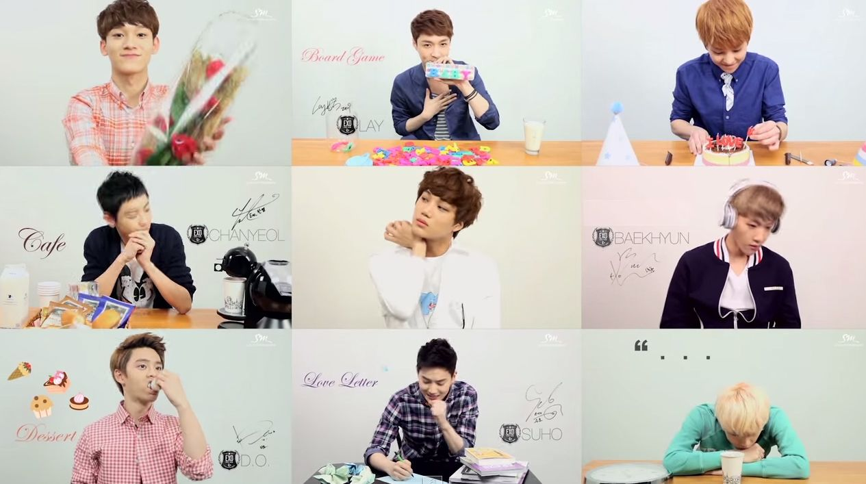 Exo Eye Contact Music Video To Tender Love D O Has The Cutest Part Omg Cant Even
