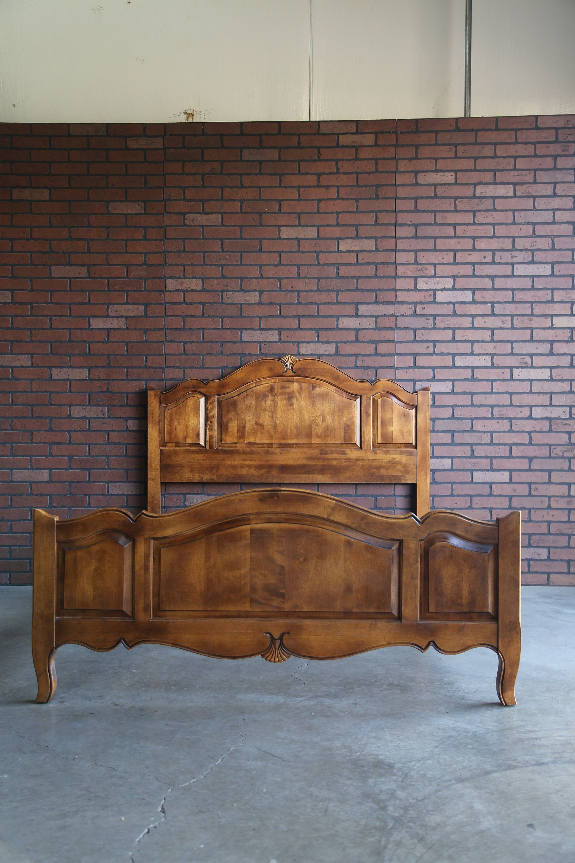 French Provincial Bed Queen Bed Frame Wooden Bed Frame