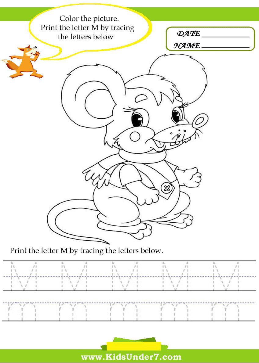 alphabet worksheets trace and print letter m traceable alphabet worksheets trace and print. Black Bedroom Furniture Sets. Home Design Ideas