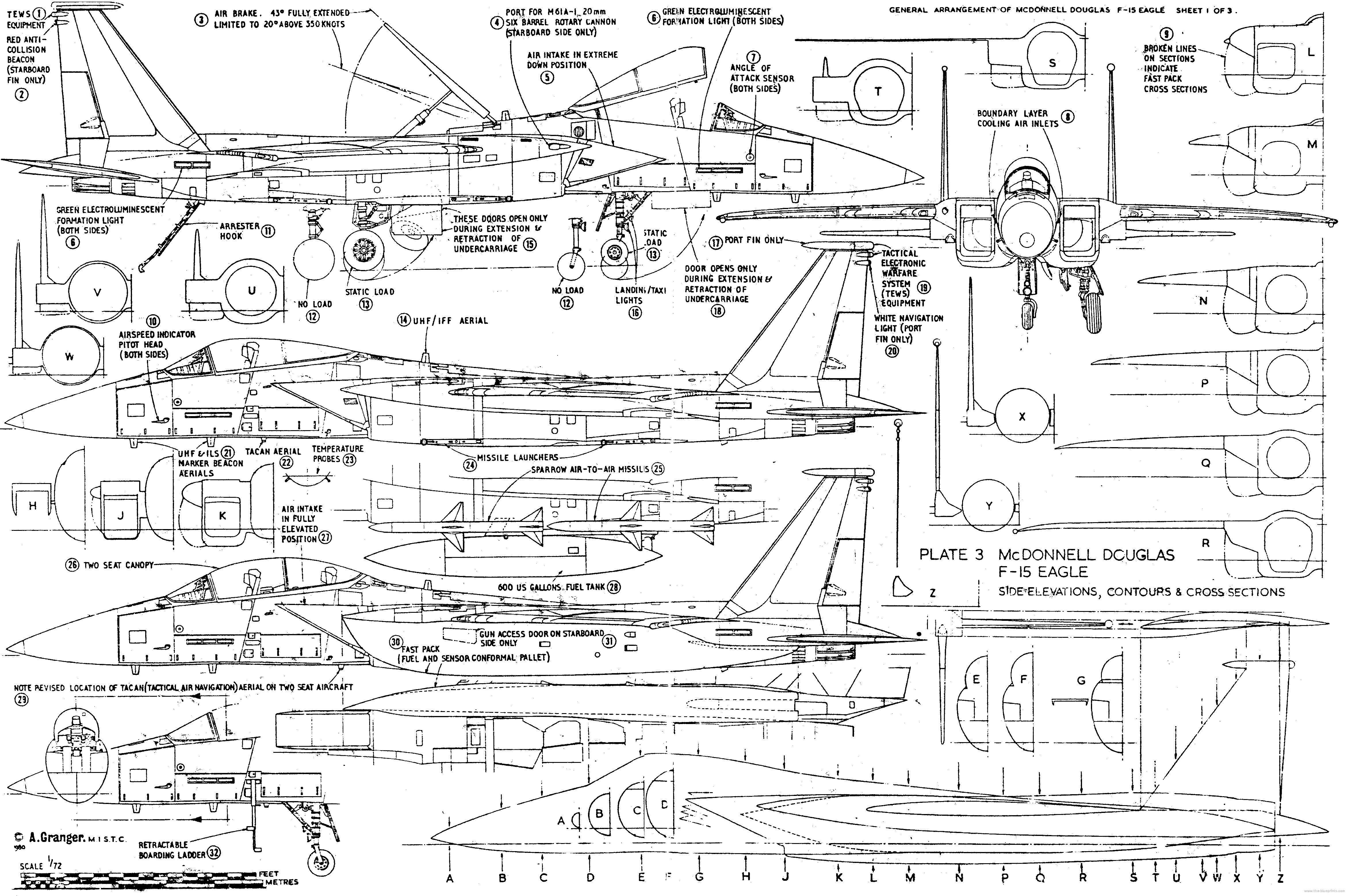F-15 fighter jet military airplane eagle plane (96) wallpaper | 4688x3116 |  250890 | WallpaperUP | Blueprints, Fighter jets, Airplane designPinterest