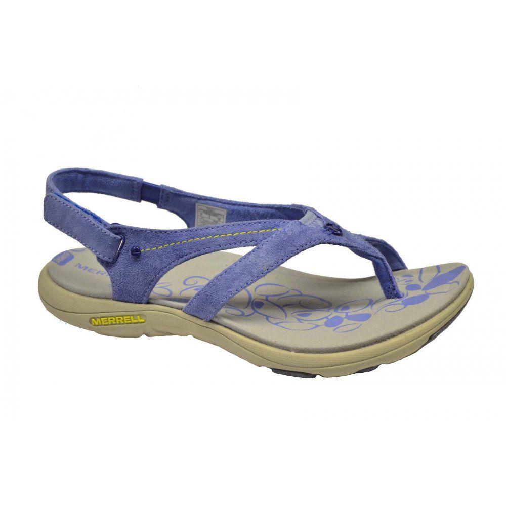 fc00ee3d971 Merrell Merrell Buzz Periwinkle (E7) Womens Sandal ...