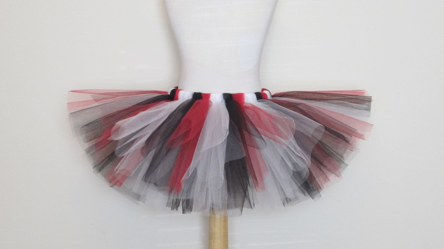 755545b08348 Queen of Hearts Tutu Skirt Black Red White Pirate Costume Baby Girls  Toddler Teen Adult 49ers by American Blossoms. $27.50, via Etsy.