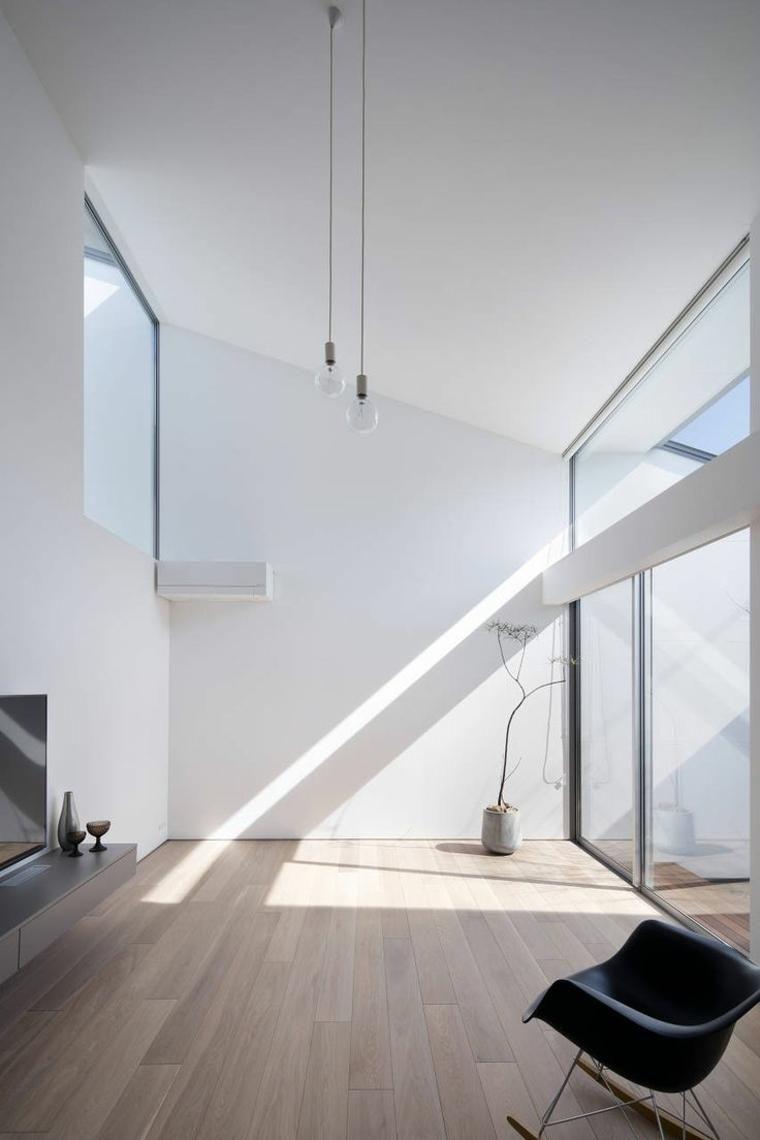 Neue wohnzimmer innenarchitektur moderne und inspirierende minimalistische innenräume  haus