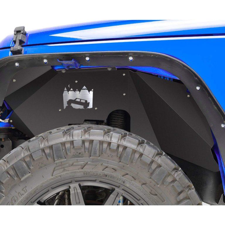 Smallfatw Jeep Wrangler Steel Front Inner Fender Liners Jeep Wrangler Wellness Jeep