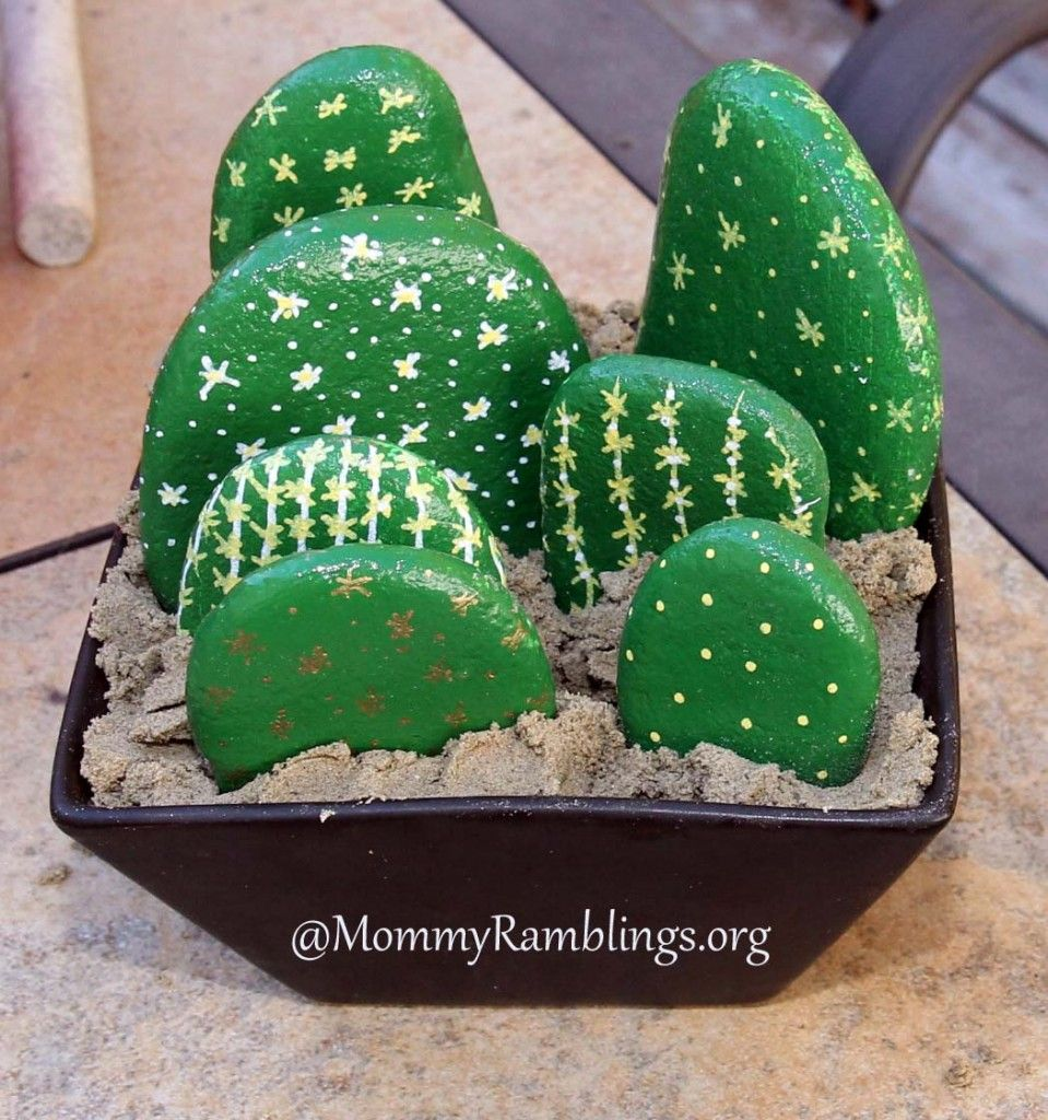 Make A Rock Cactus More River