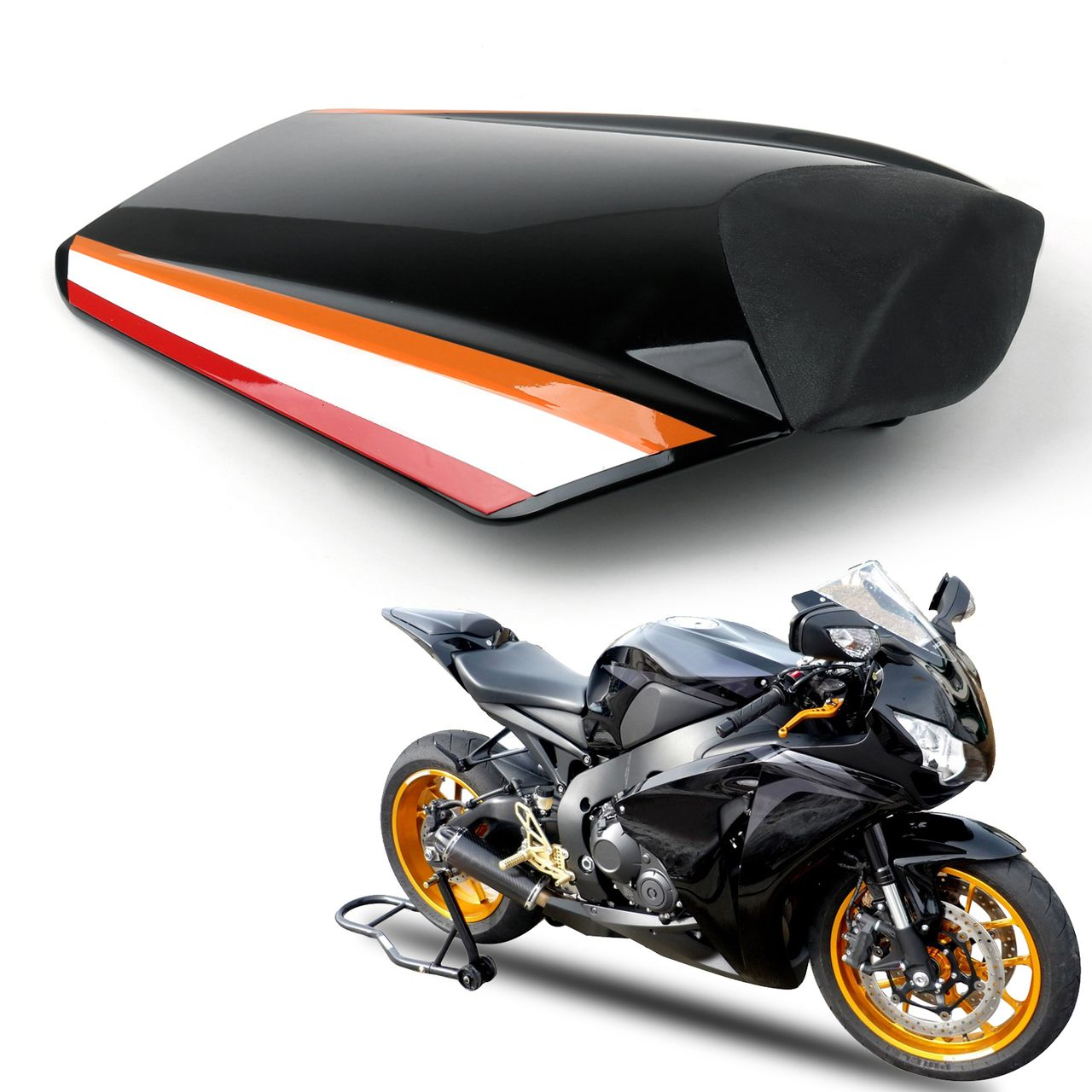 High Quality ABS Motorcycle Rear Seat Cover Cowl For BMW S1000RR 2010 2011 2012 2013 2014