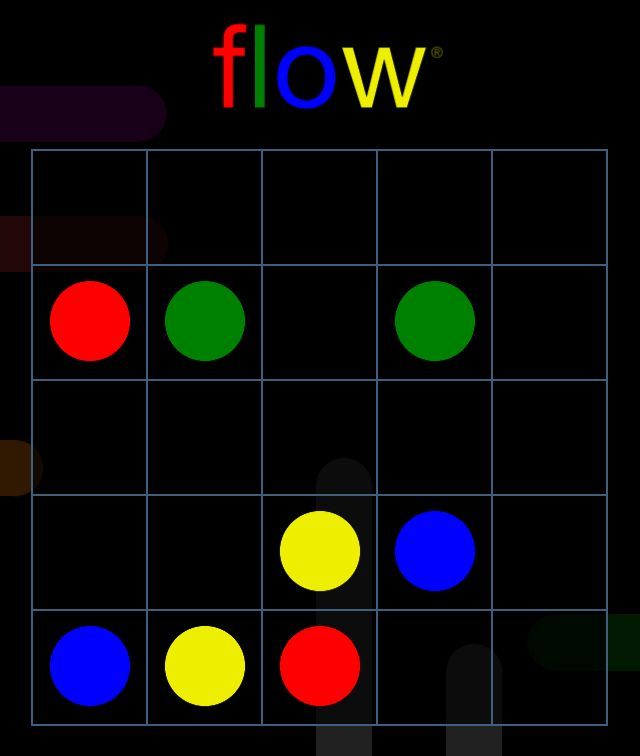 I solved Bonus Pack, 5x5 level 15 in Flow Free perfectly!  Can you?