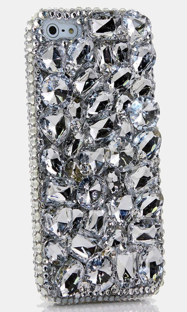 Diamond Stones Design bling iPhone 5  5s  5c crystals homemade case  ad9554638