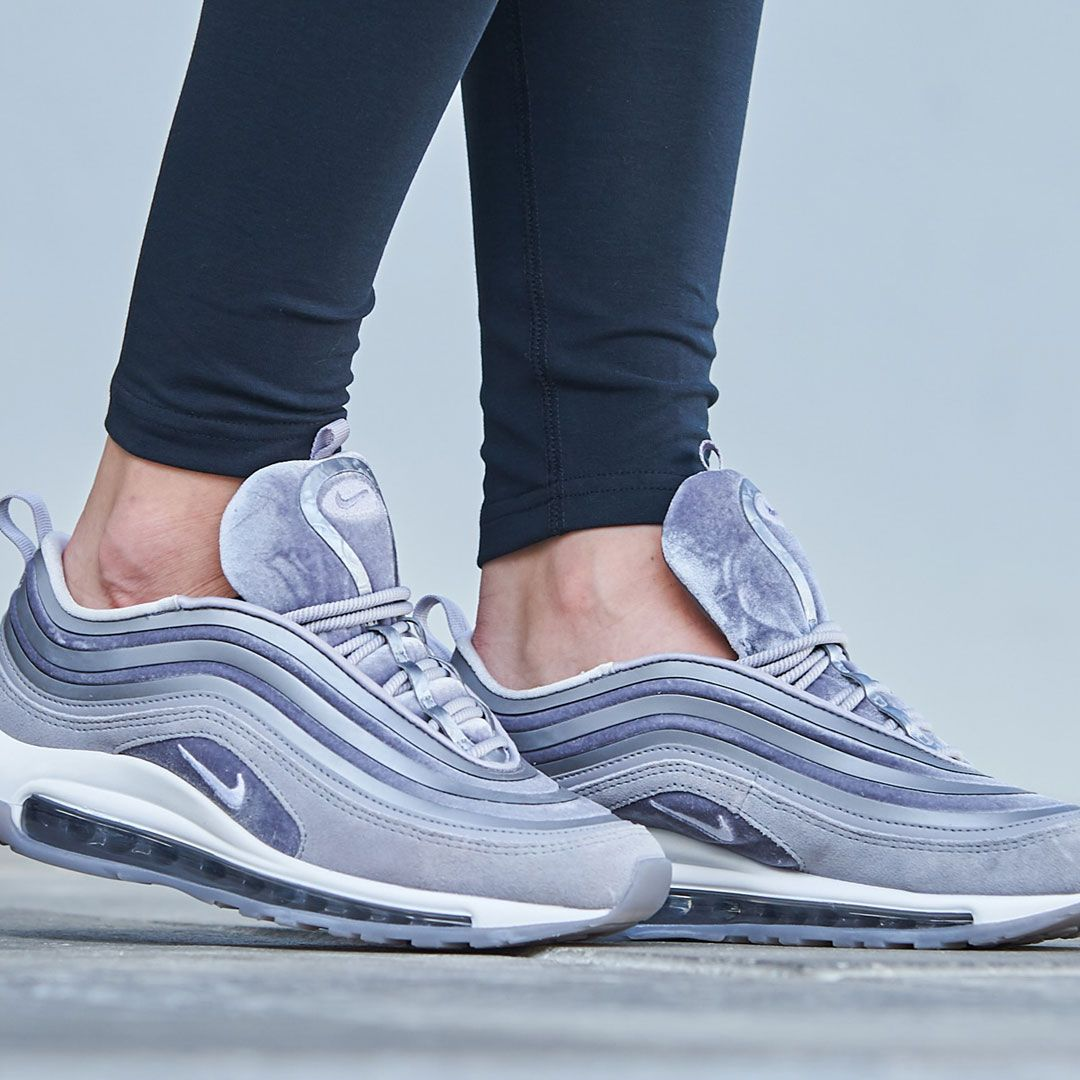Cop the latest Nike women's Air Max 97. #Nike #AirMax #AirMax97 #Nikeshoes  #velvet