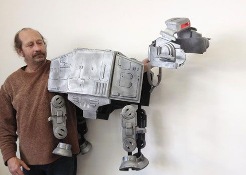 Prize Winning Star Wars Imperial Walker Dog Costume Made By