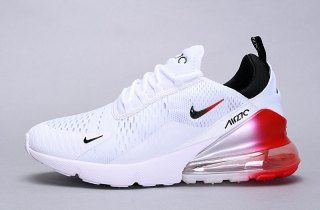 size 40 b3aec 05a51 Mens Womens Winter Nike Air Max 270 Flyknit Sneakers White red black AH8050- 111