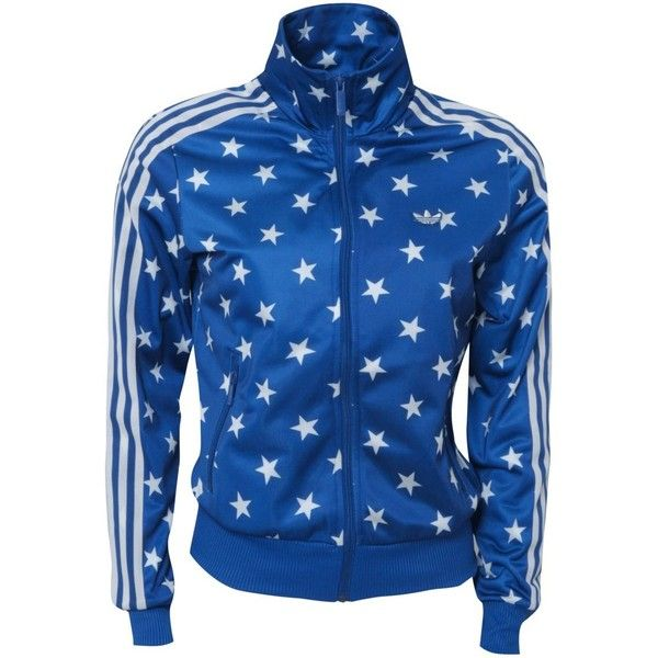 2aa8db4ba208 Adidas Originals Star Print Tracksuit Top found on Polyvore Neon  Accessories