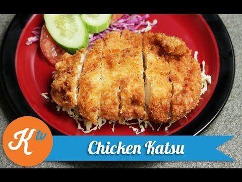 Resep Chicken Katsu Chicken Katsu Recipe Video Resep Makanan Makanan Memasak