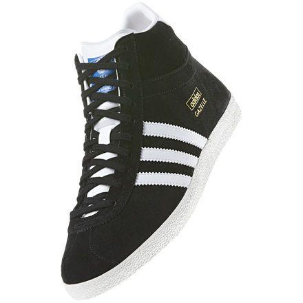 Gazelle OG Mid Shoes, Black / Running White / White Vapour, zoom