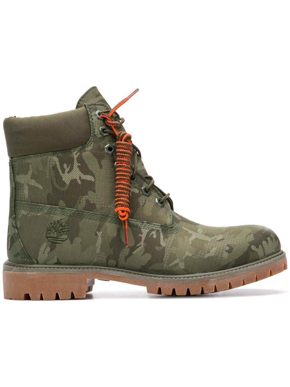 7d61cf248d07 TIMBERLAND TIMBERLAND CAMOUFLAGE LACE-UP BOOTS - GREEN.  timberland  shoes