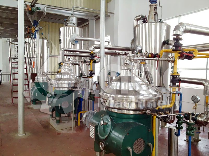 Starting Large Scale Palm Oil Refining Plant Palm Oil Plants