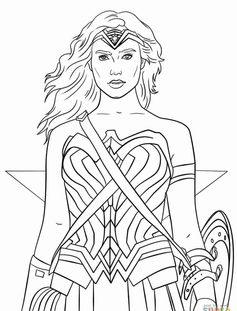 30 New Wonder Woman Coloring Pages In 2020