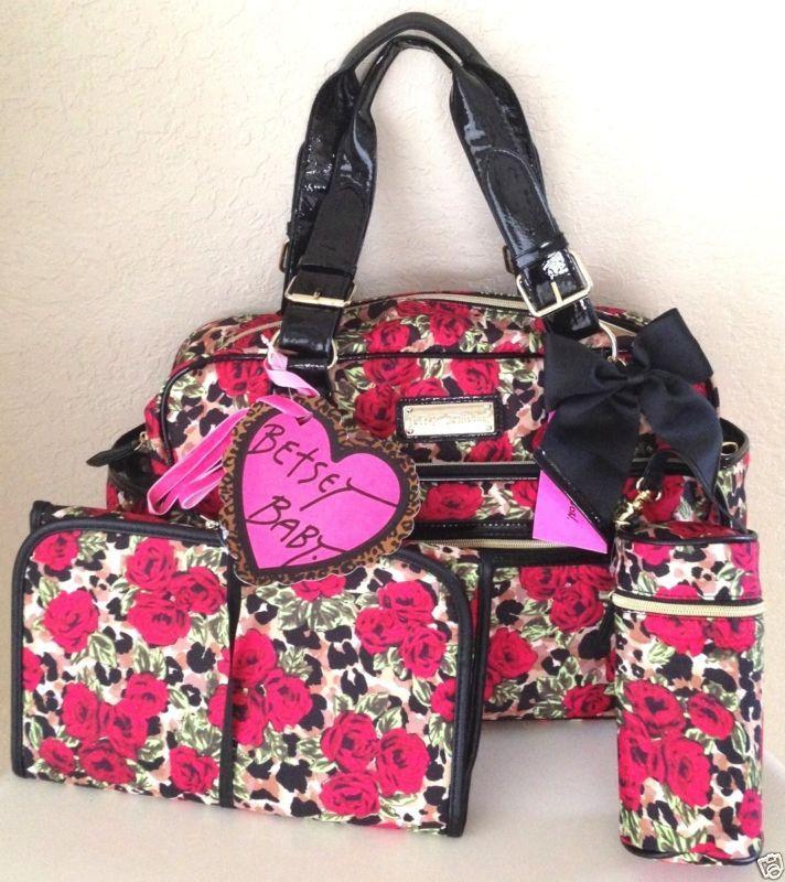 fdb05b1b8d7c Or this cute Betsey Johnson diaper bag | Nevaeh | Betsey johnson ...