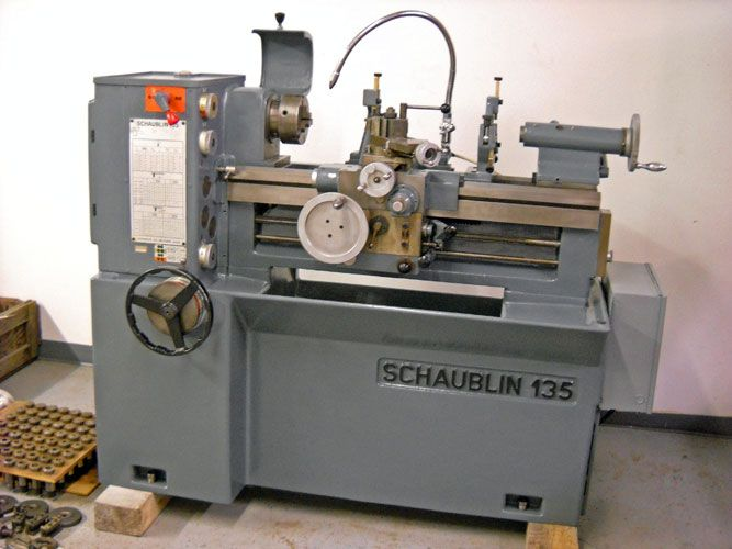 Used Lathes Engine Lathe For Sale Precision Lathes Tool Room >> 12 X 24 Schaublin 135 High Precision Swiss Toolroom Lathe