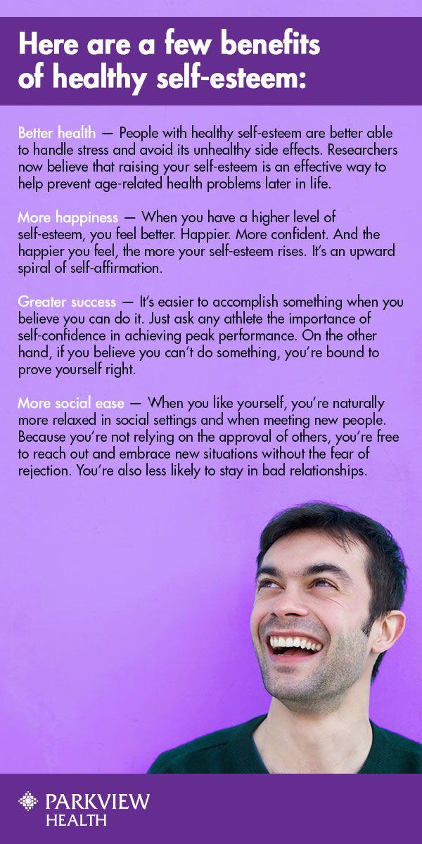 The benefits of a healthy self-esteem   via @ParkviewHealth