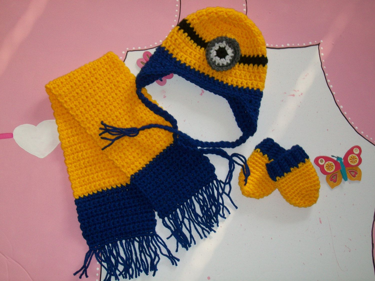 Baby boy clothes newborn baby boy outfit baby minion hat set baby boy clothes newborn baby boy outfit baby minion hat set boys clothing photo prop outfit clothing for boys bankloansurffo Choice Image