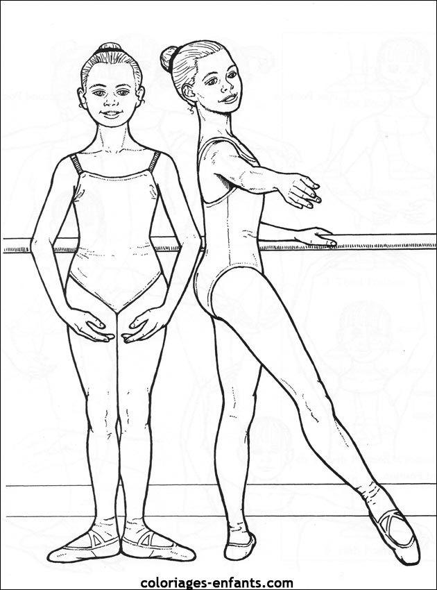 Coloriage Danseuse De Ballet.Coloriage Danse A Colorier Dessin A Imprimer Brico Kids A
