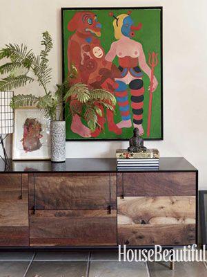 pretty inspiration modern credenza. Modern wood furniture A Japanese Inspired Home  interior Wabi sabi and