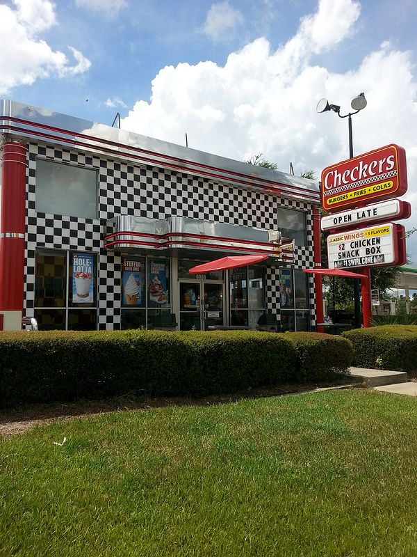 Checkers On Sand Lake Drive Fast From I Orlando Flickr
