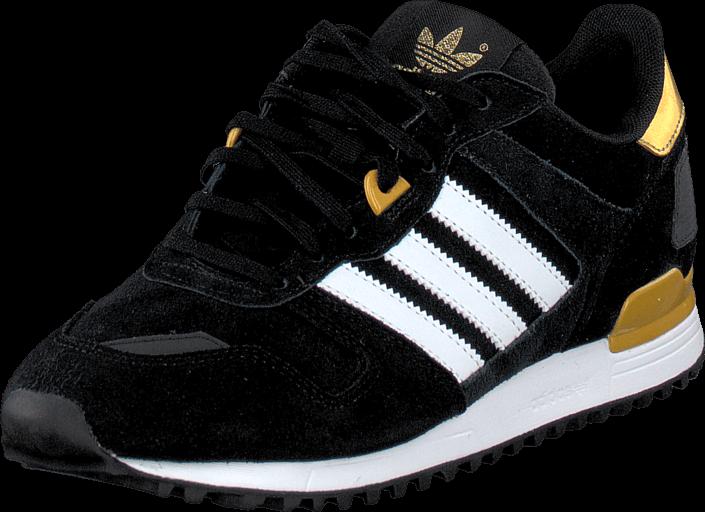Adidas Originals - Zx 700 W Core Black/Ftwr White/Gold