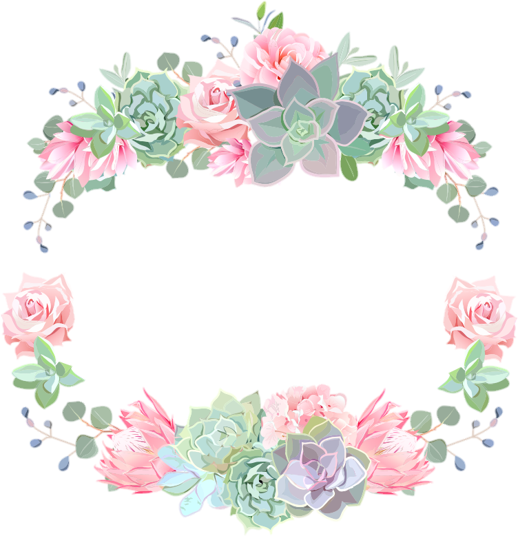Open Full Size Flower Crown Colorful Spring Bloom Watercolor