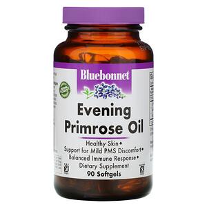 Bluebonnet Nutrition زيت زهرة الربيع المسائية 1300 مجم 90 كبسولة جيلاتينية Evening Primrose Oil Evening Primrose Primrose Oil