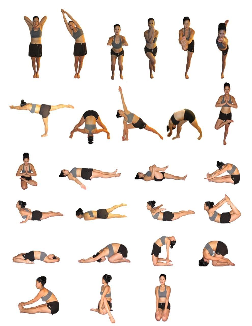 Bikram Yoga All Poses