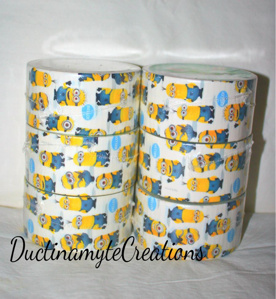 Despicable Me Duct Tape Duck Tape NEW