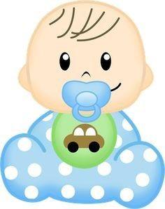 imagenes de bebe animados para baby shower