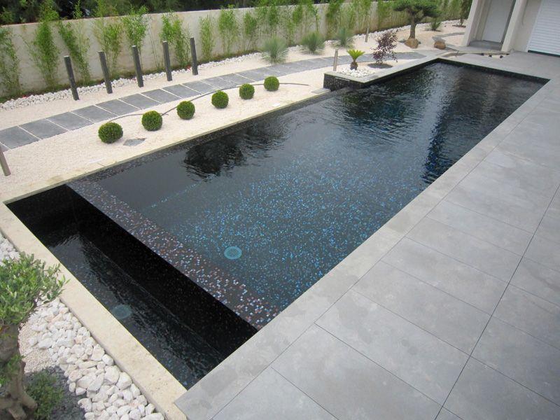 piscine noir argent   Piscine/ intérieur extérieur en 2019 ...