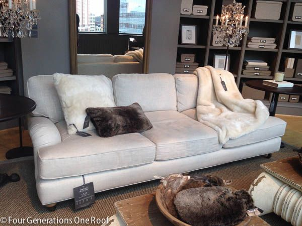 comfortable couches. The Search For A Comfy Couch - Restoration Hardware I\u0027m Too Cheap To Comfortable Couches