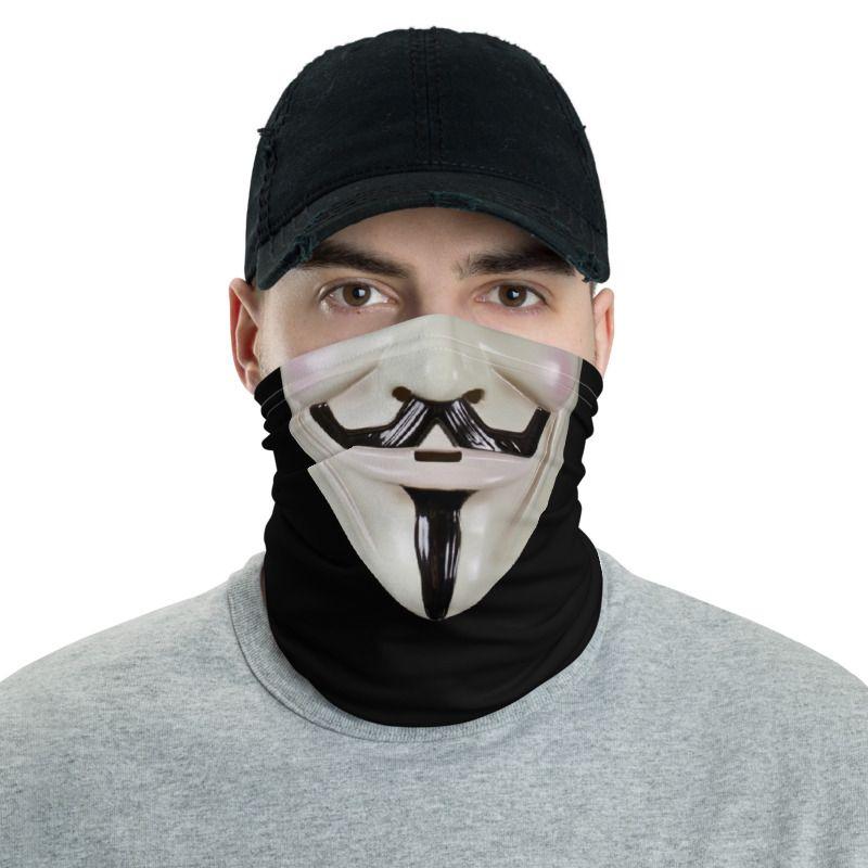 V For Vendetta Face Mask Neck Gaiters Neck Gaiter Gaiters V For Vendetta Face