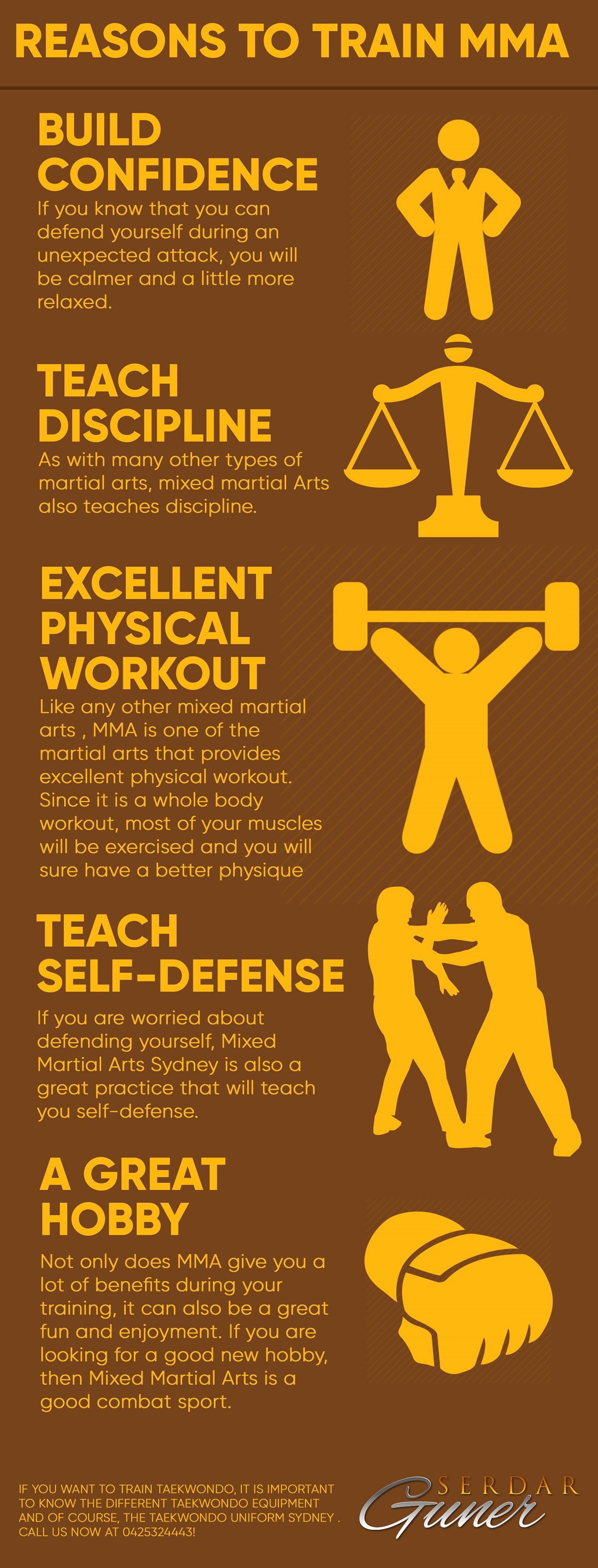 There are different Martial arts and combat sports you can choose ...