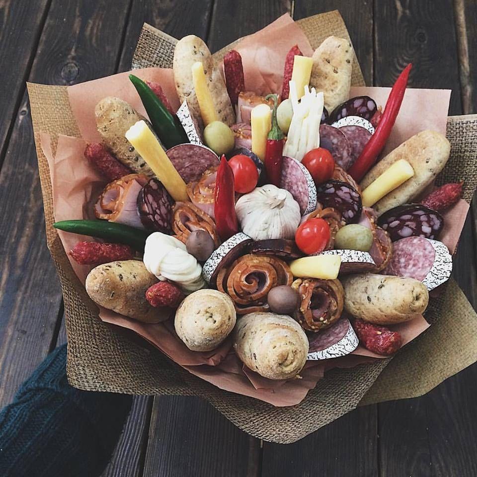 Мужской букет из колбасы киев, донецке купить дешевые