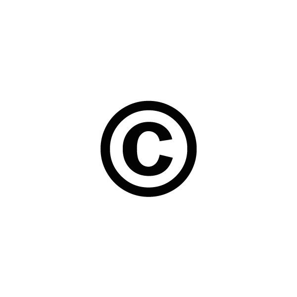 Copyright Symbol Webpage Liked On Polyvore Featuring Fillers C