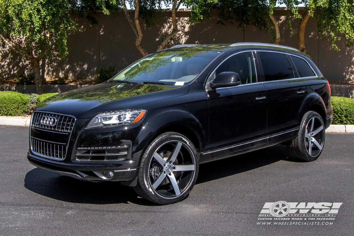 2014 audi q7 with vossen wheels by wheel specialists inc in tempe az click to view more. Black Bedroom Furniture Sets. Home Design Ideas