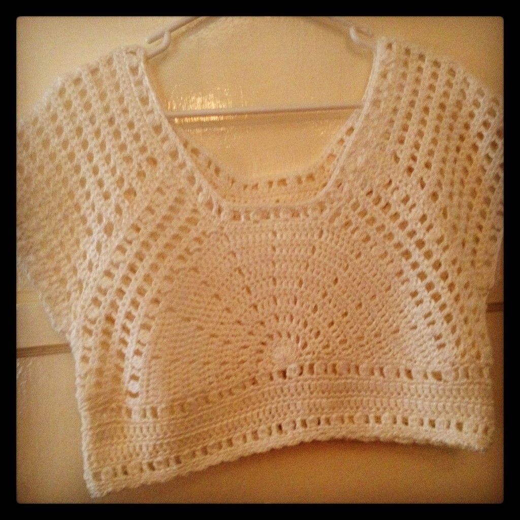 Crochet Lazy Days of Summer Top. I found the free crochet pattern on ...