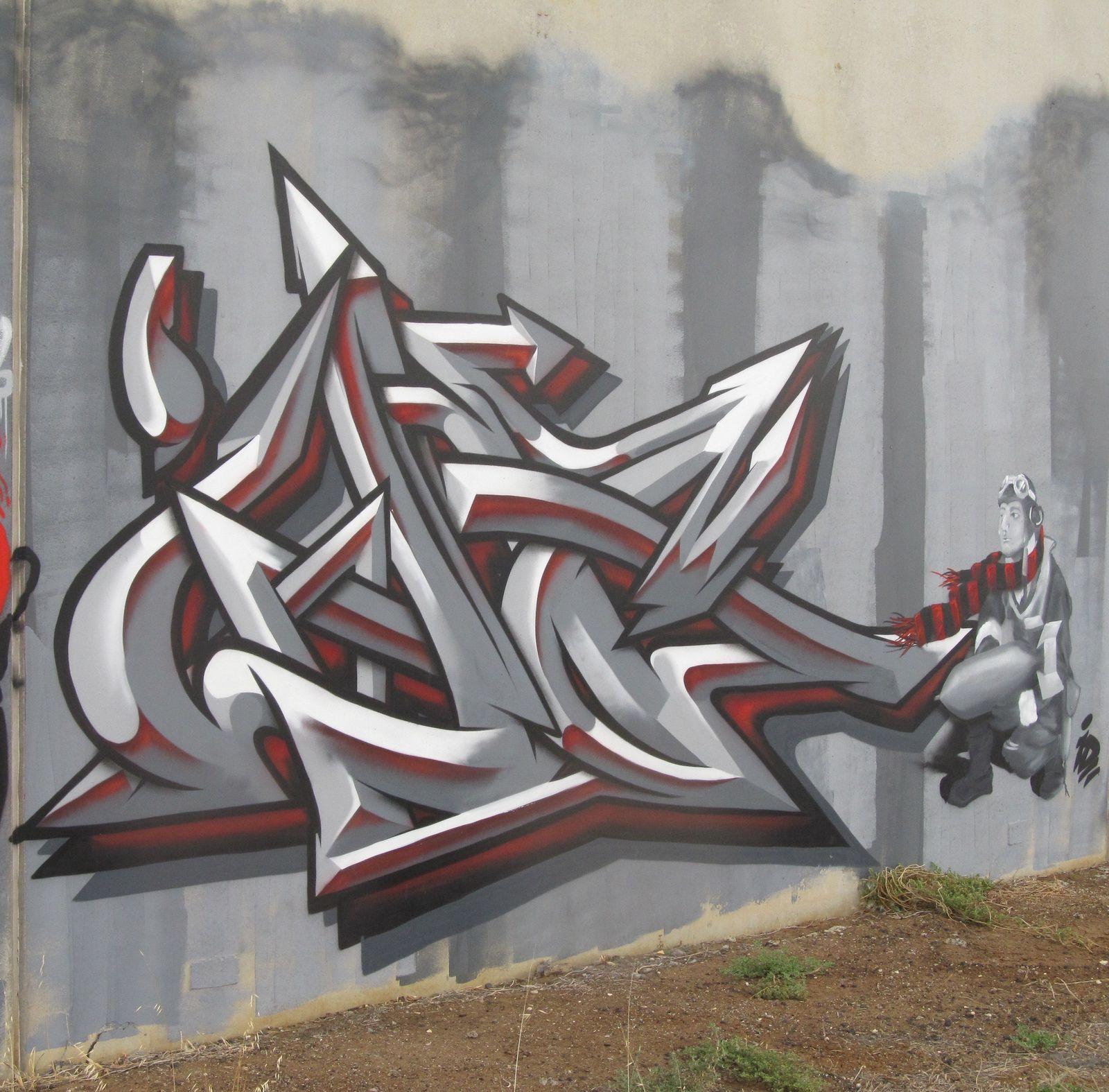 Graffiti wall training - Graffiti